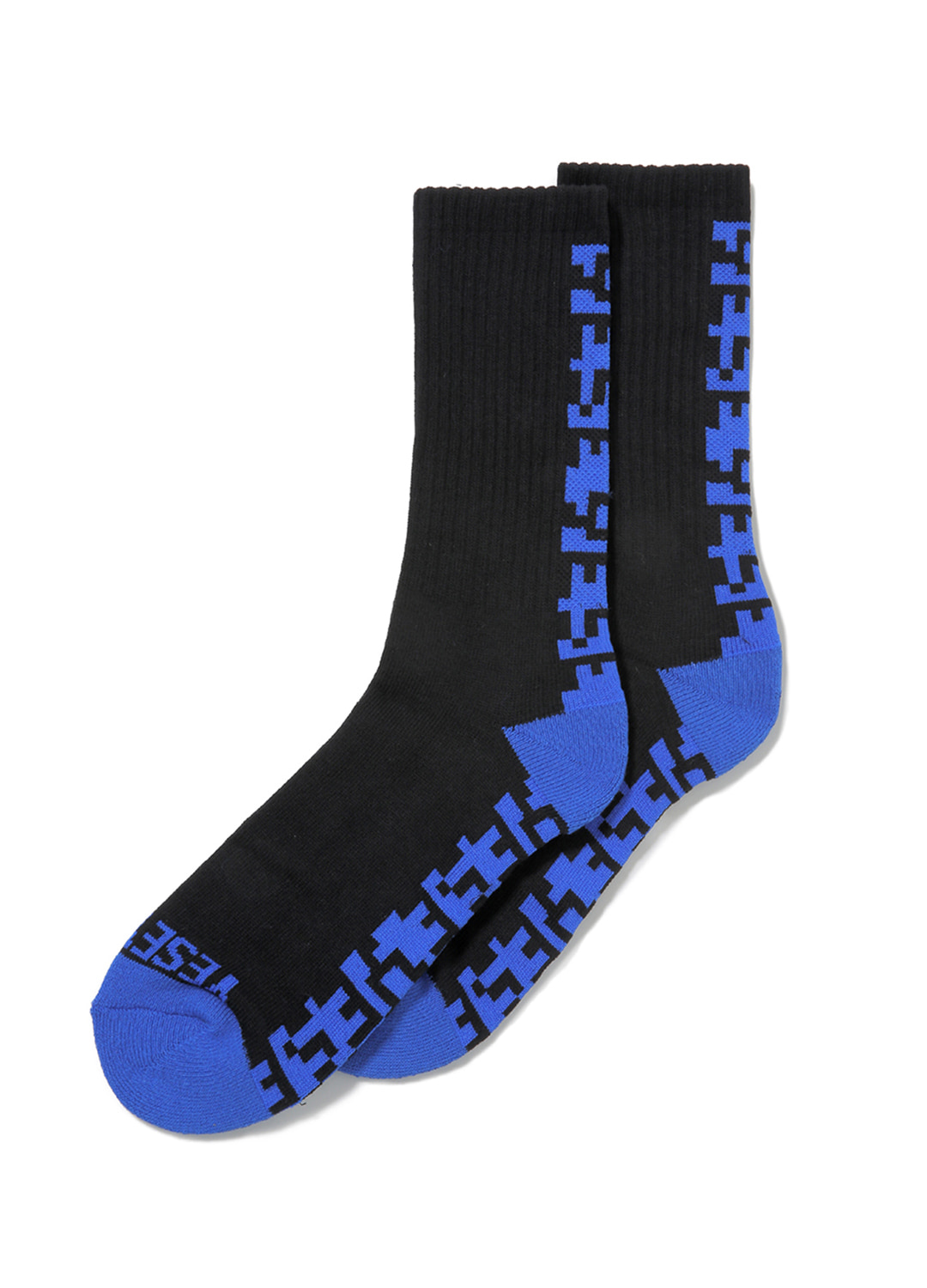 Y.E.S Line Socks Black