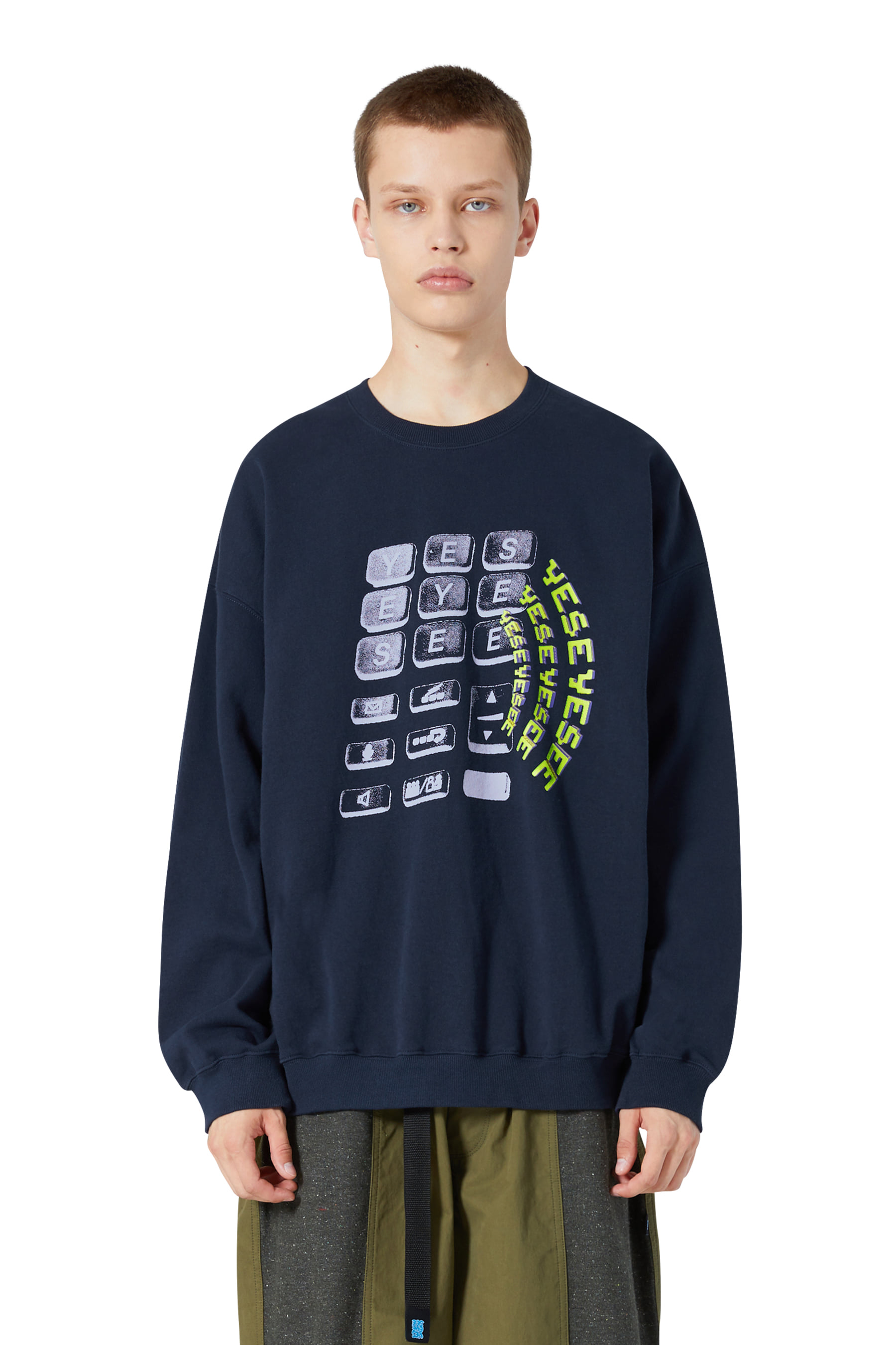Y.E.S Wifi Sweatshirts Navy