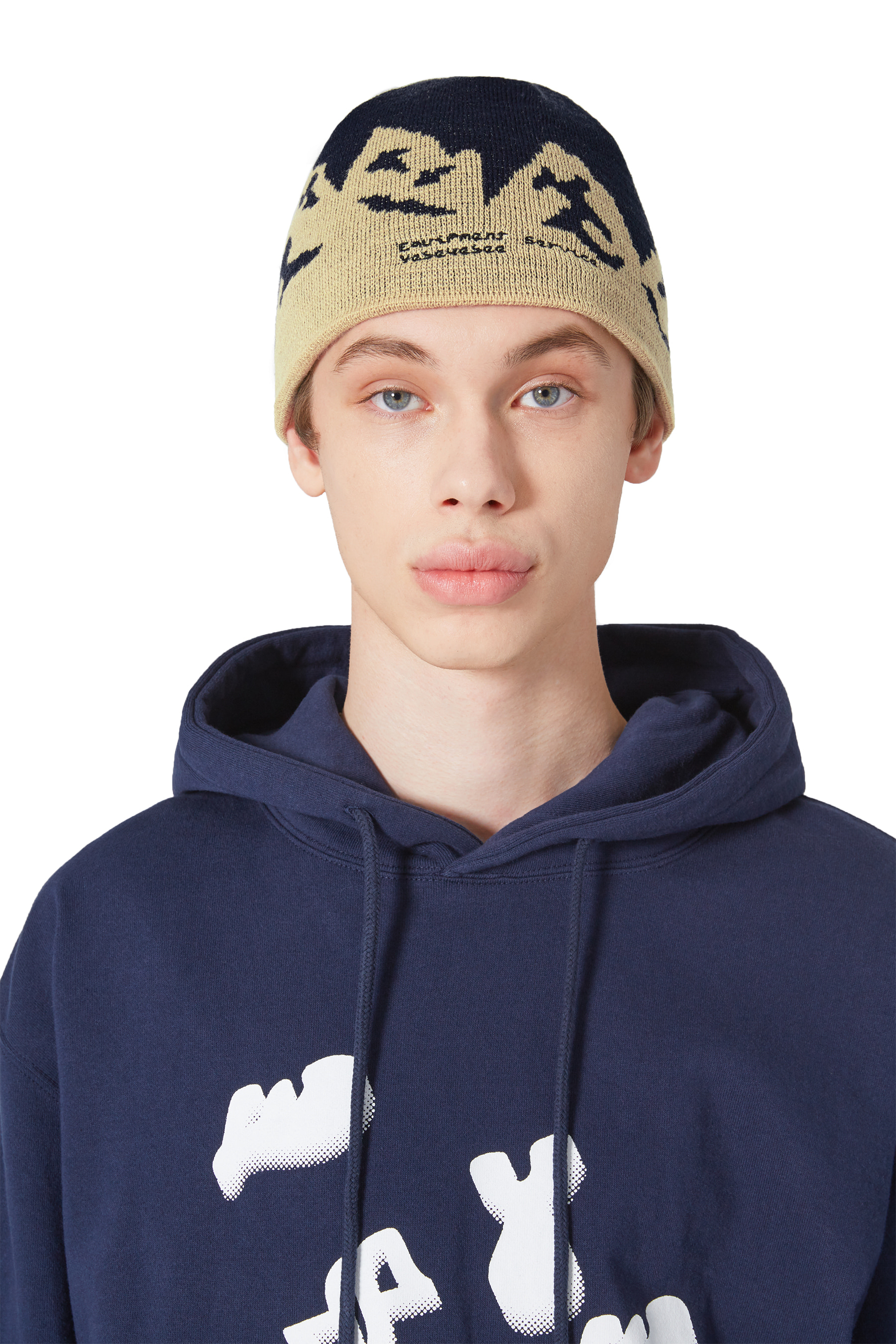 Y.E.S Mountain Beanie Navy