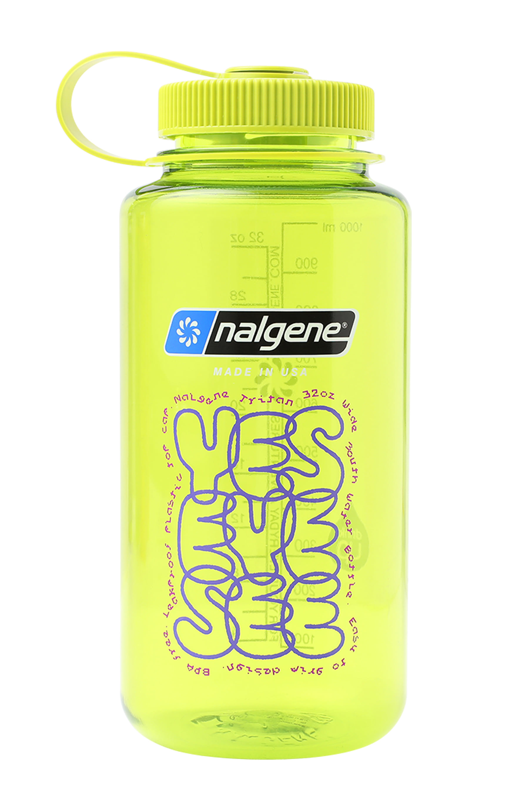 Y.E.S water bottle Spring Green