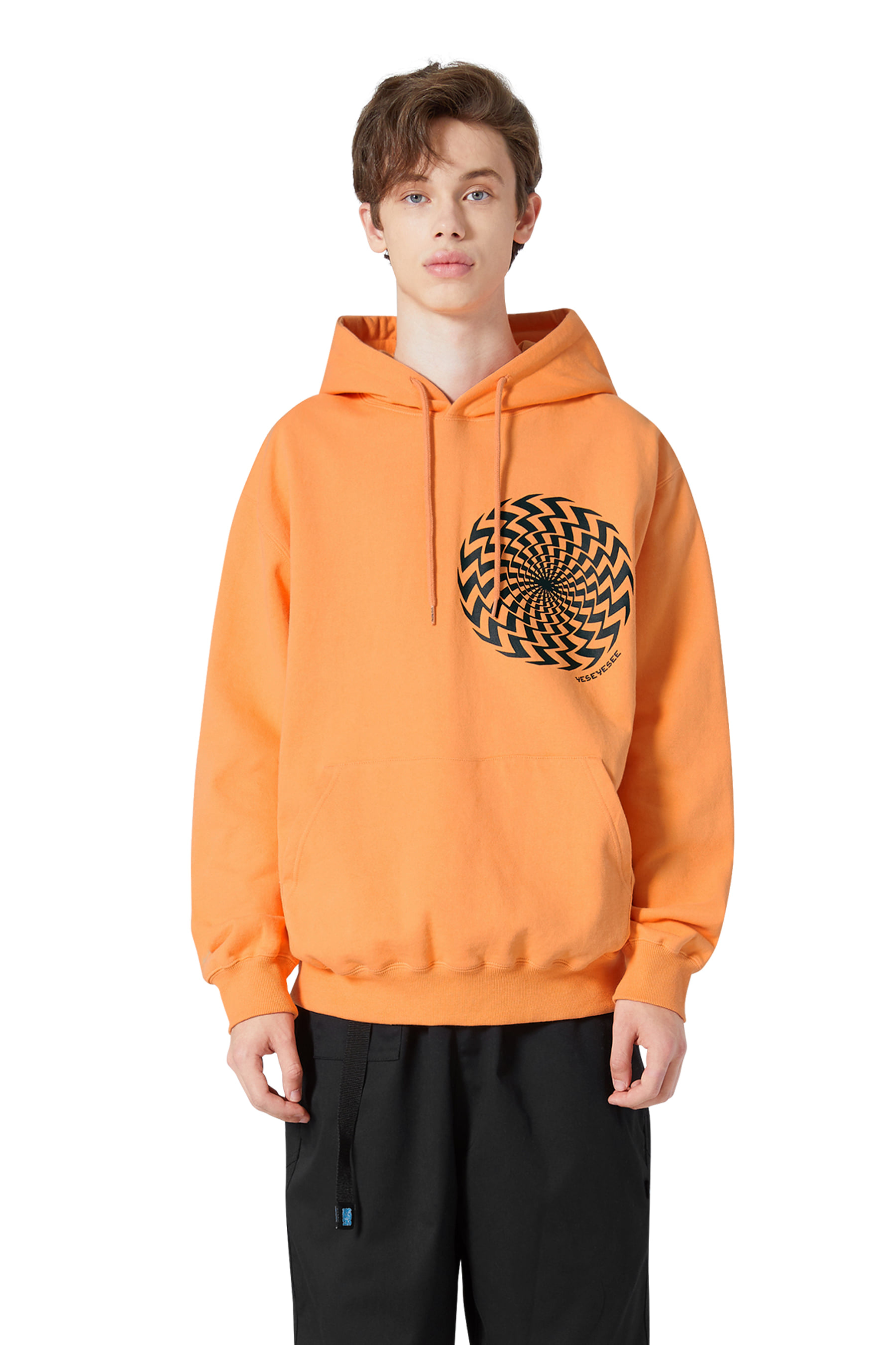 Y.E.S Twister Hoodie Orange