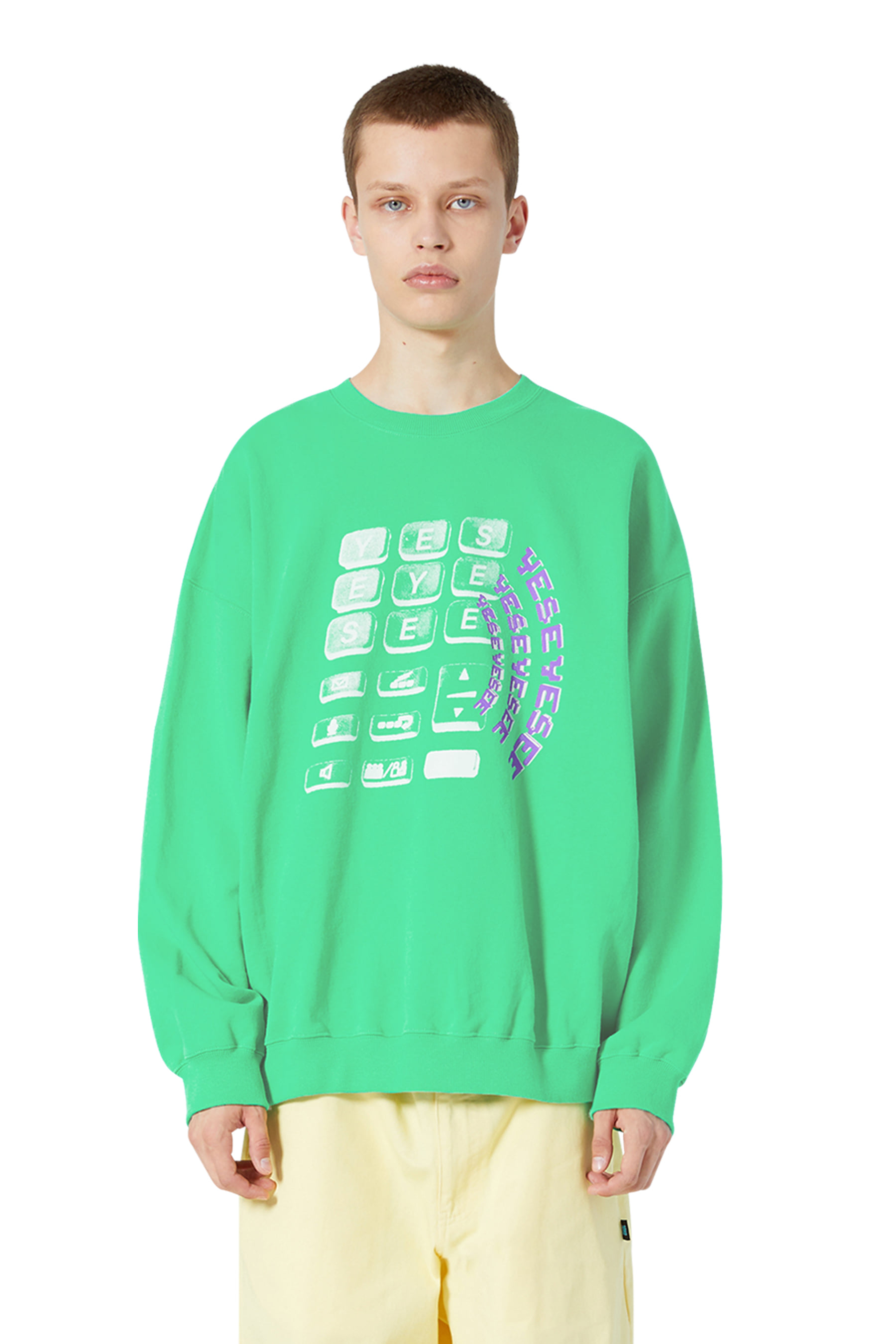 Y.E.S Wifi Sweatshirts Green