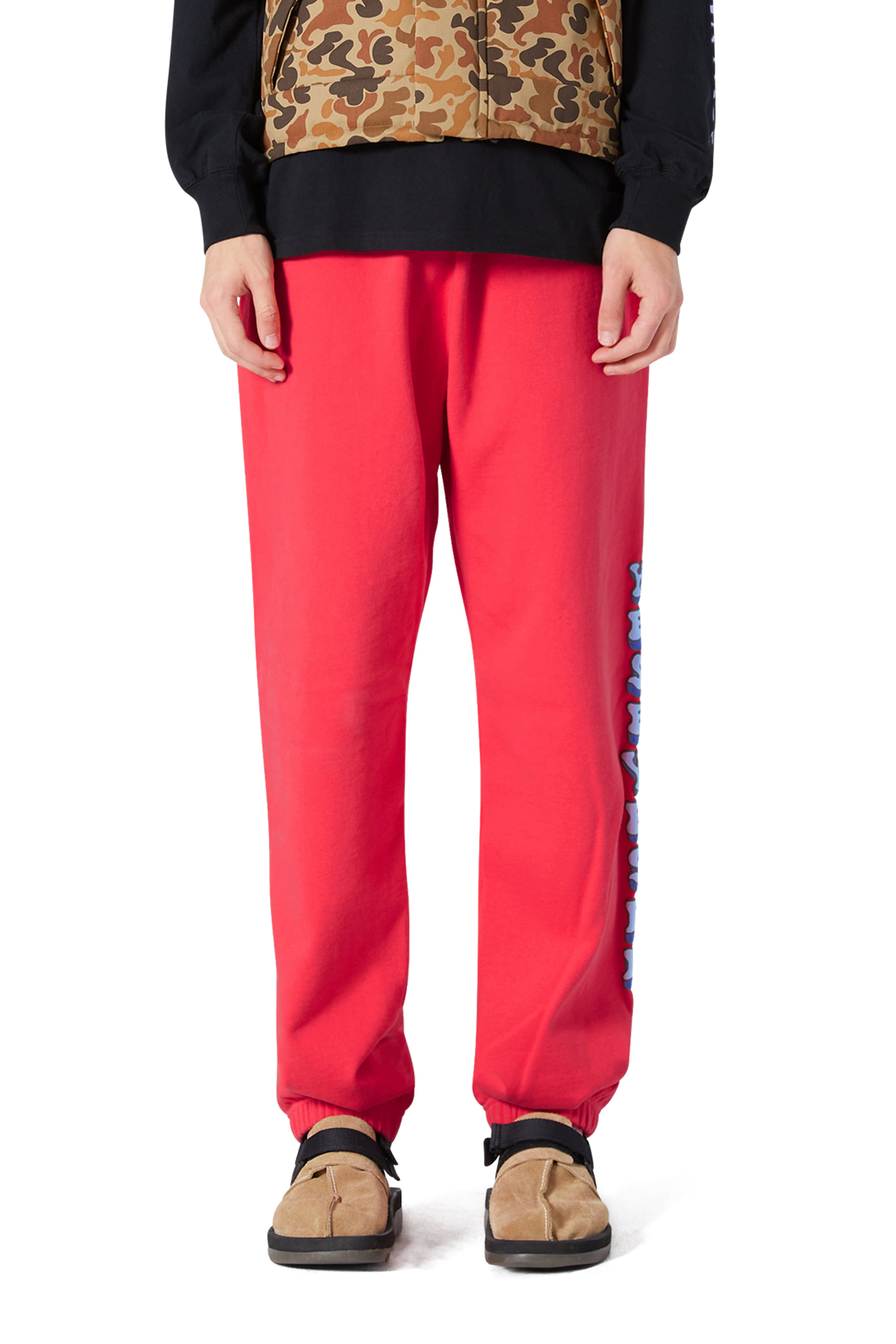 Acid Sweat Pants Red