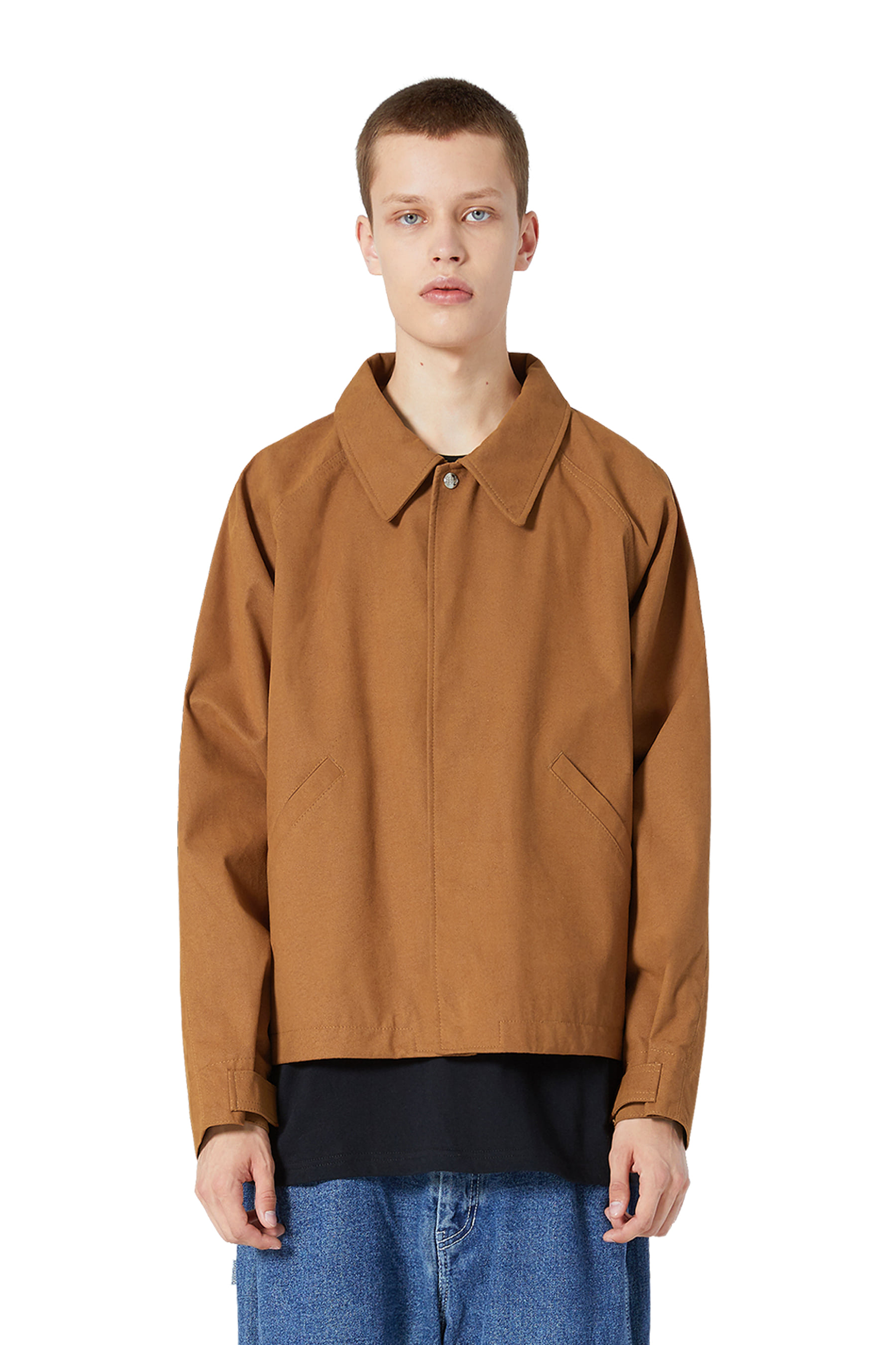 Y.E.S Suade Jacket Brown