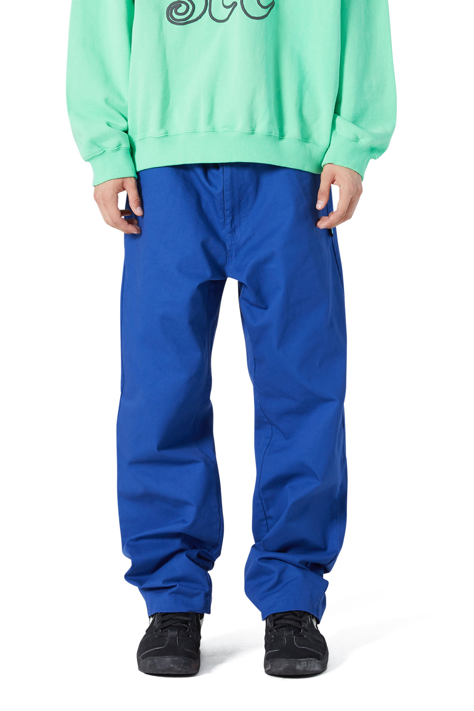 Clover Chino Pants Blue