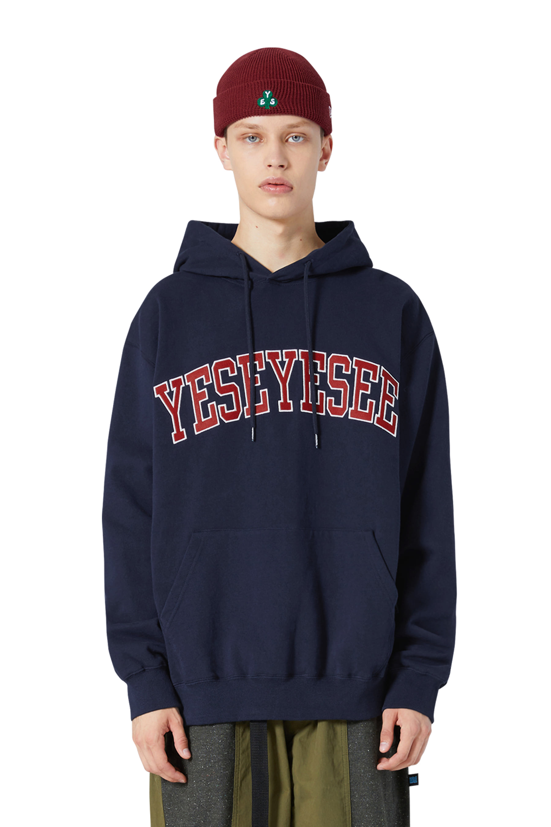Arch Logo Hoodie Navy