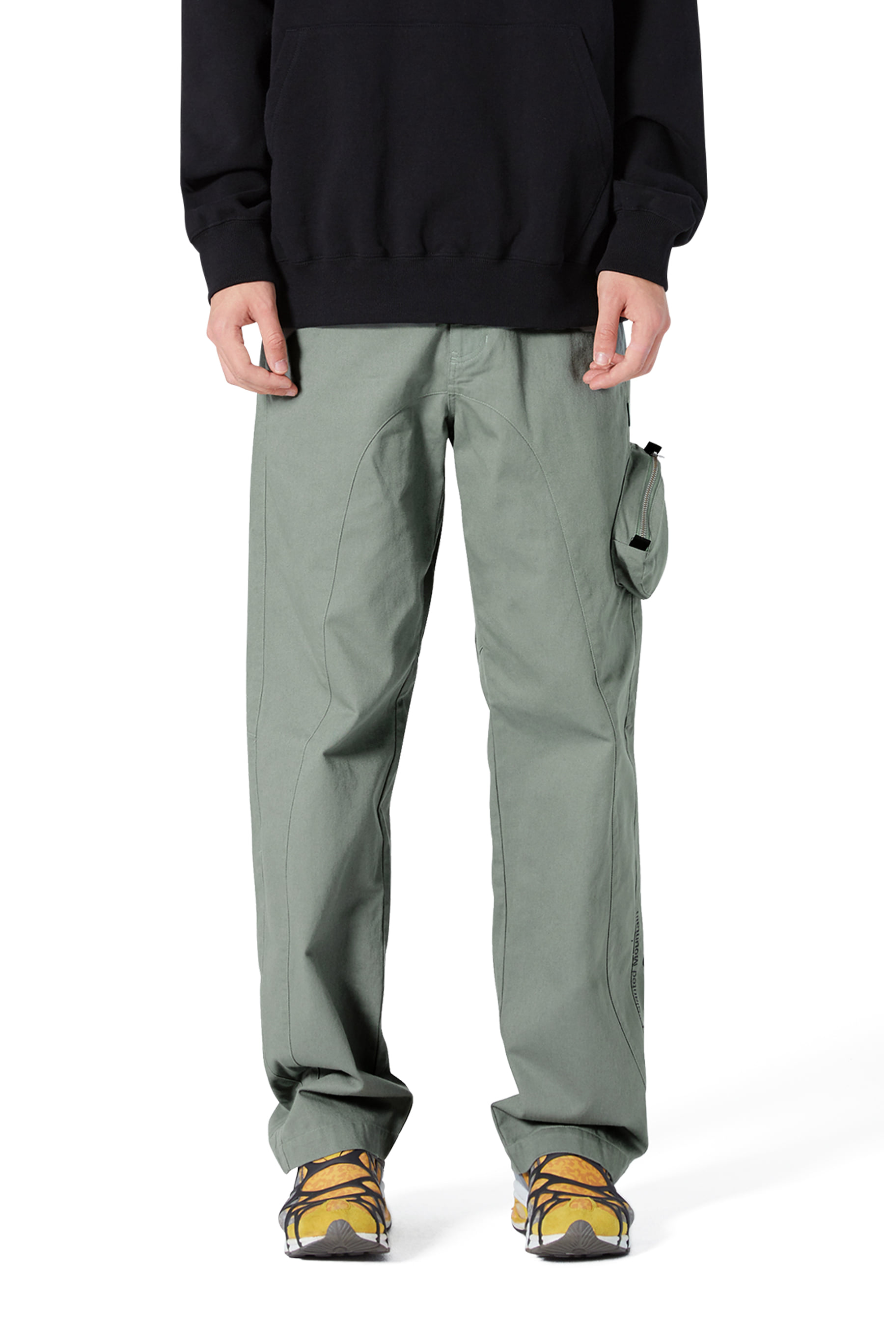 Y.E.S Engineer Pants Jade Green