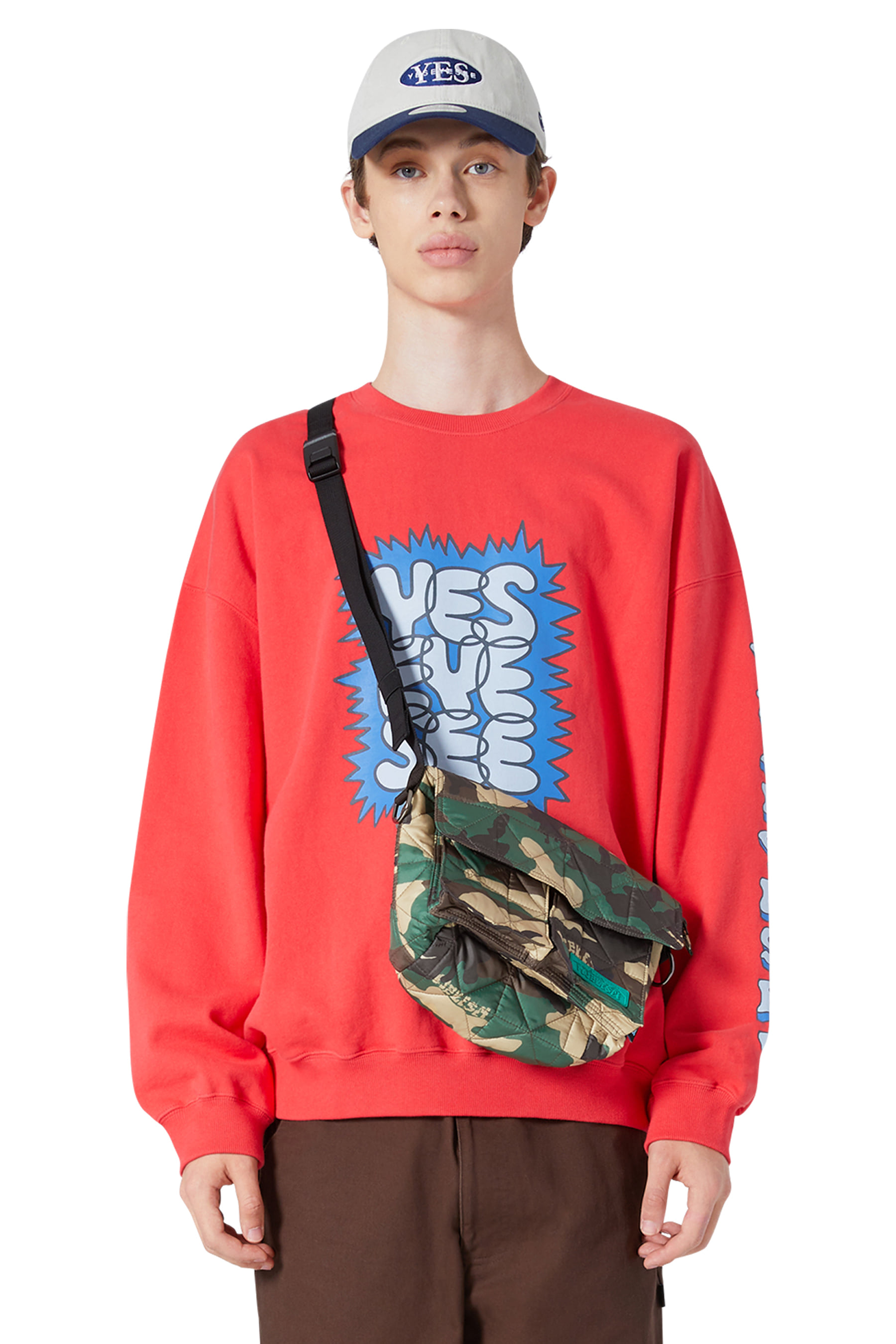 Y.E.S Explorer Shoulder Bag Camo