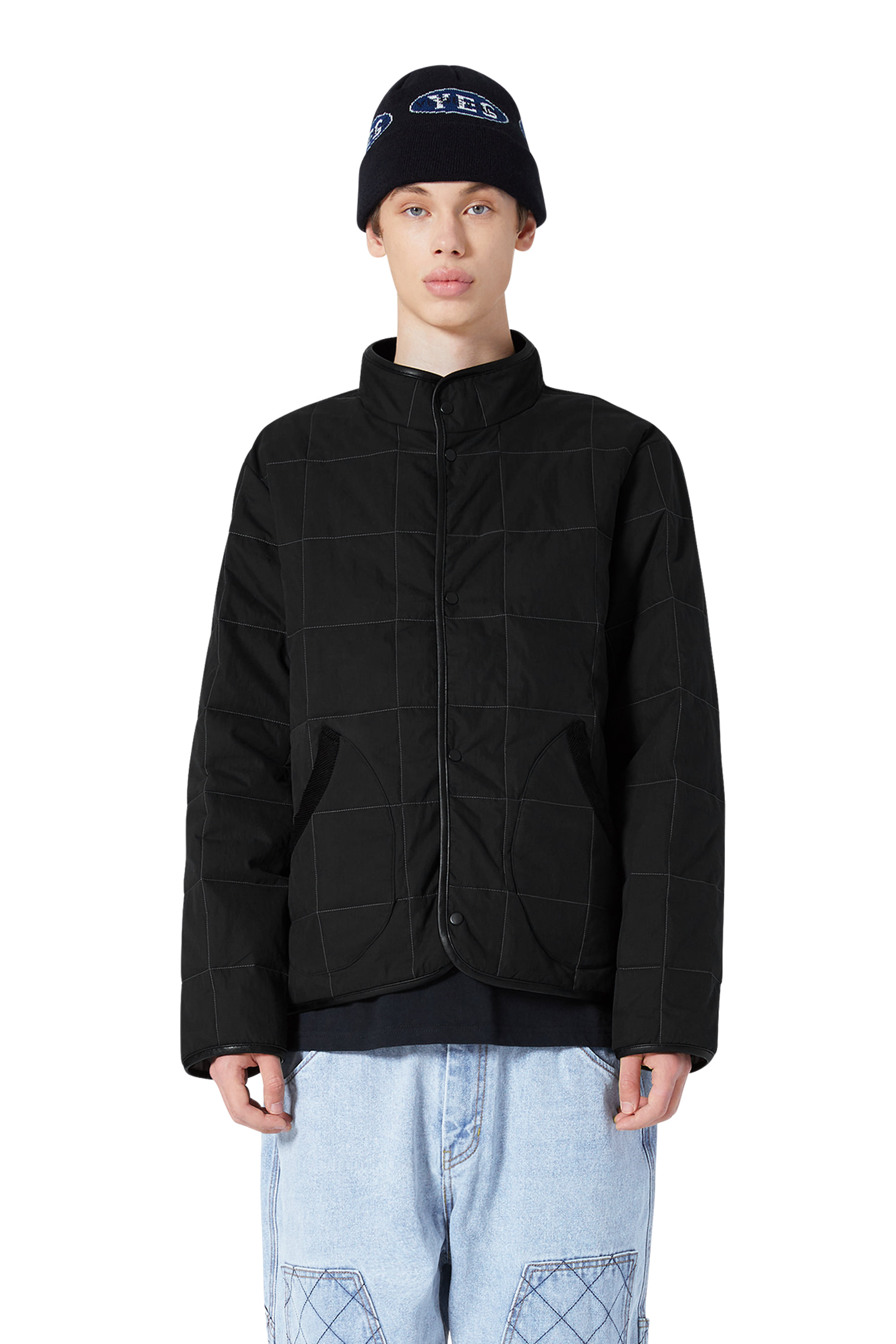 Y.E.S Padded Jacket Black