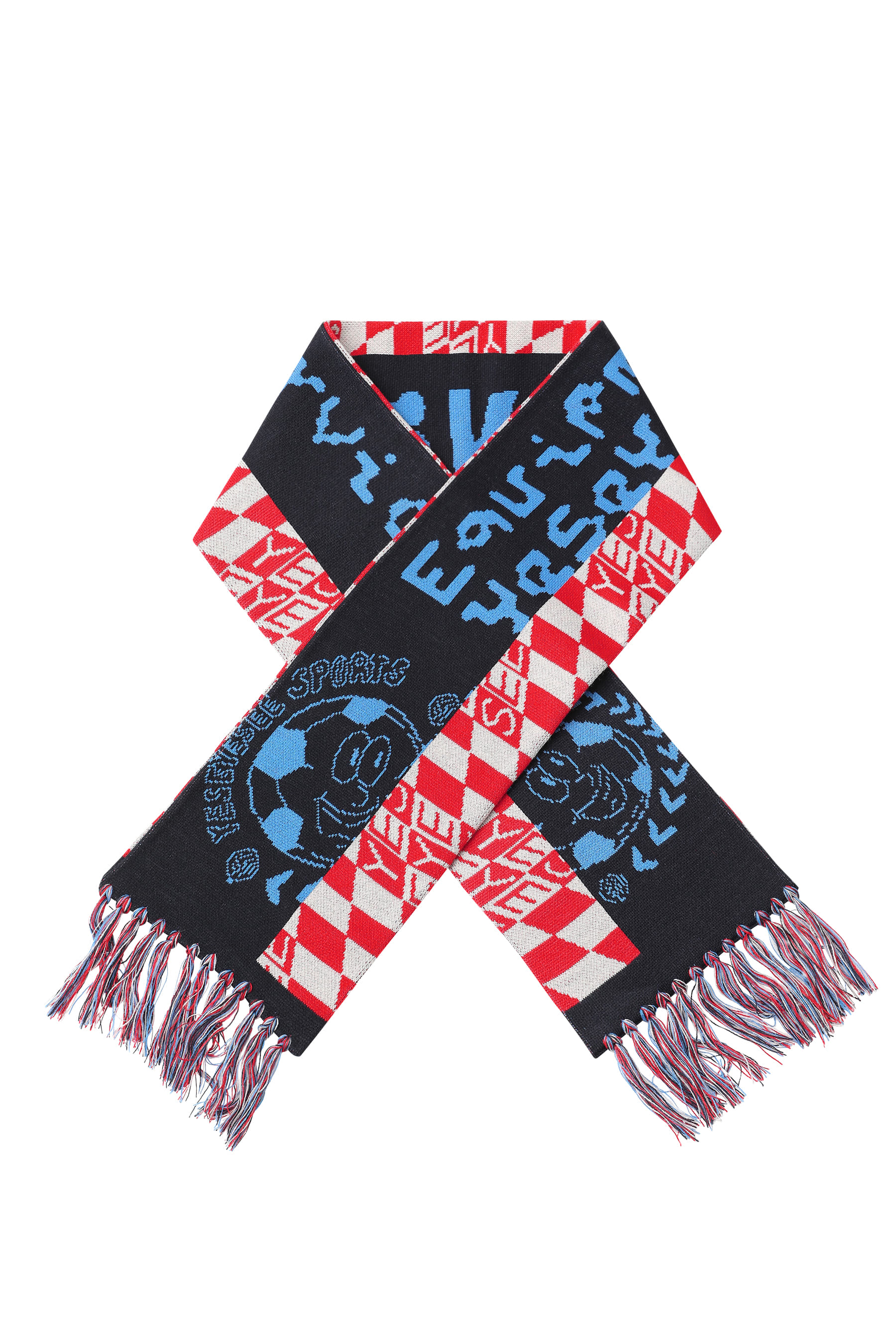 Y.E.S Football Club Scarf Navy