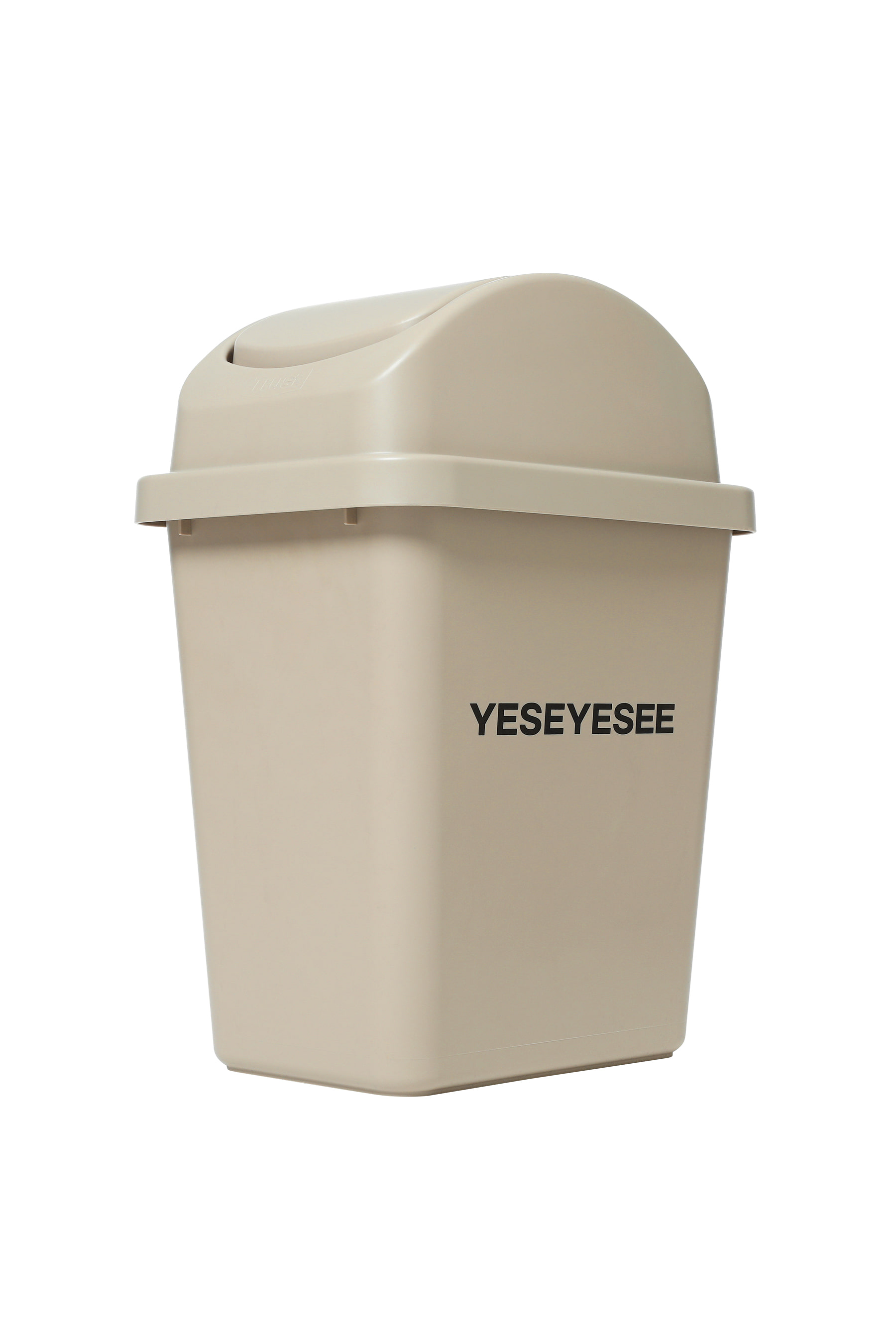 Y.E.S Trash Can Beige