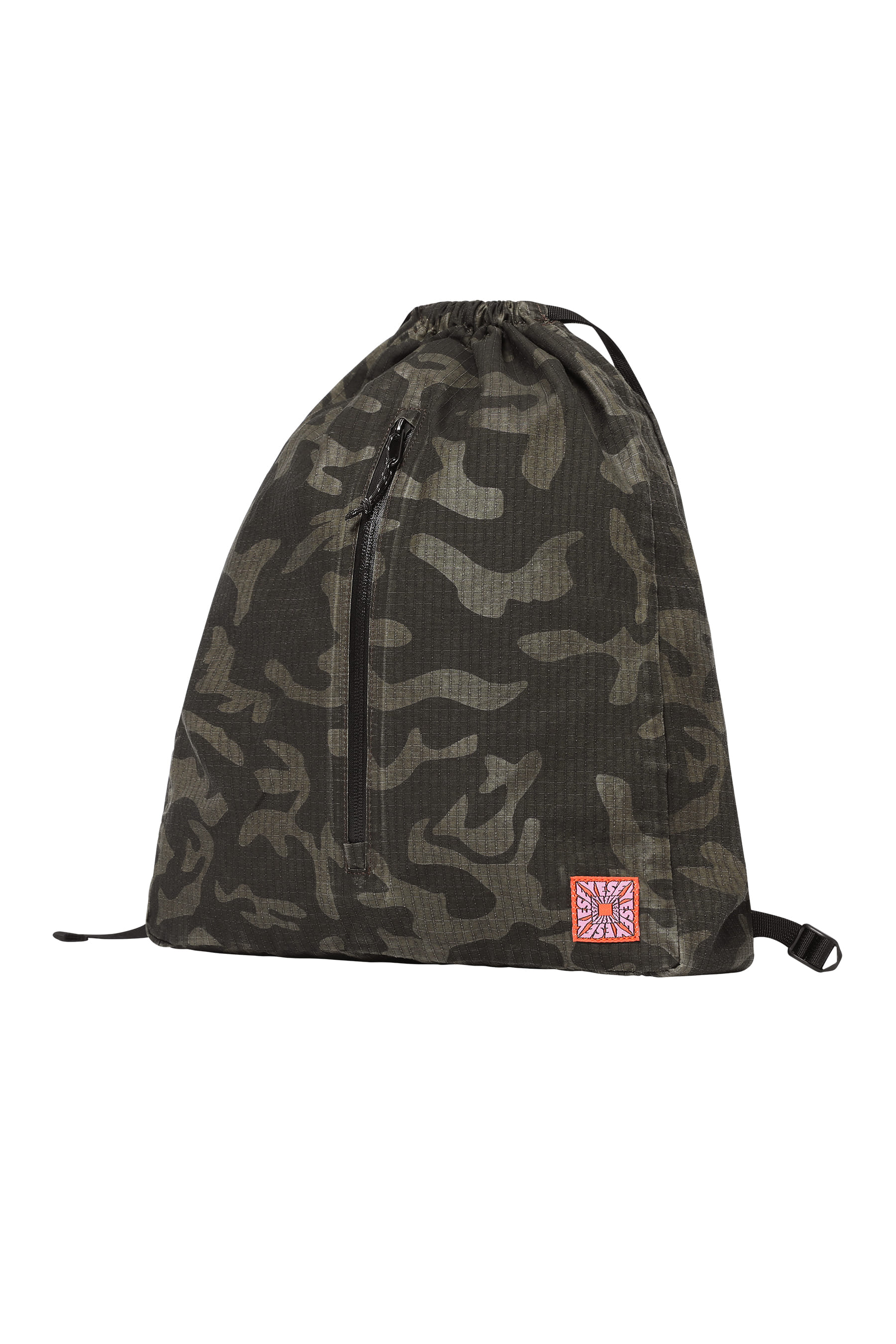 Y.E.S Gym Sack Black Camo