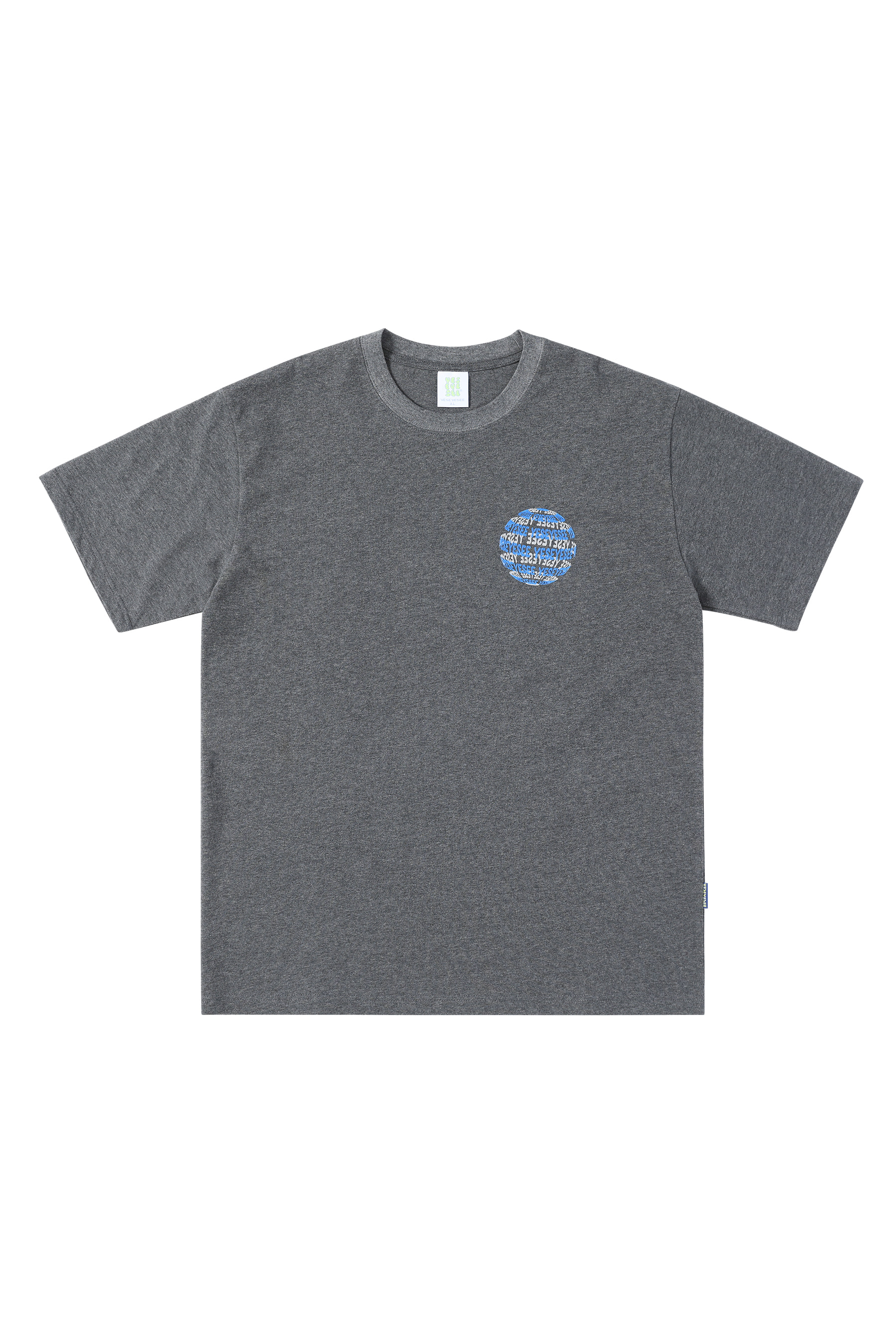 Y.E.S Space Tee Charcoal