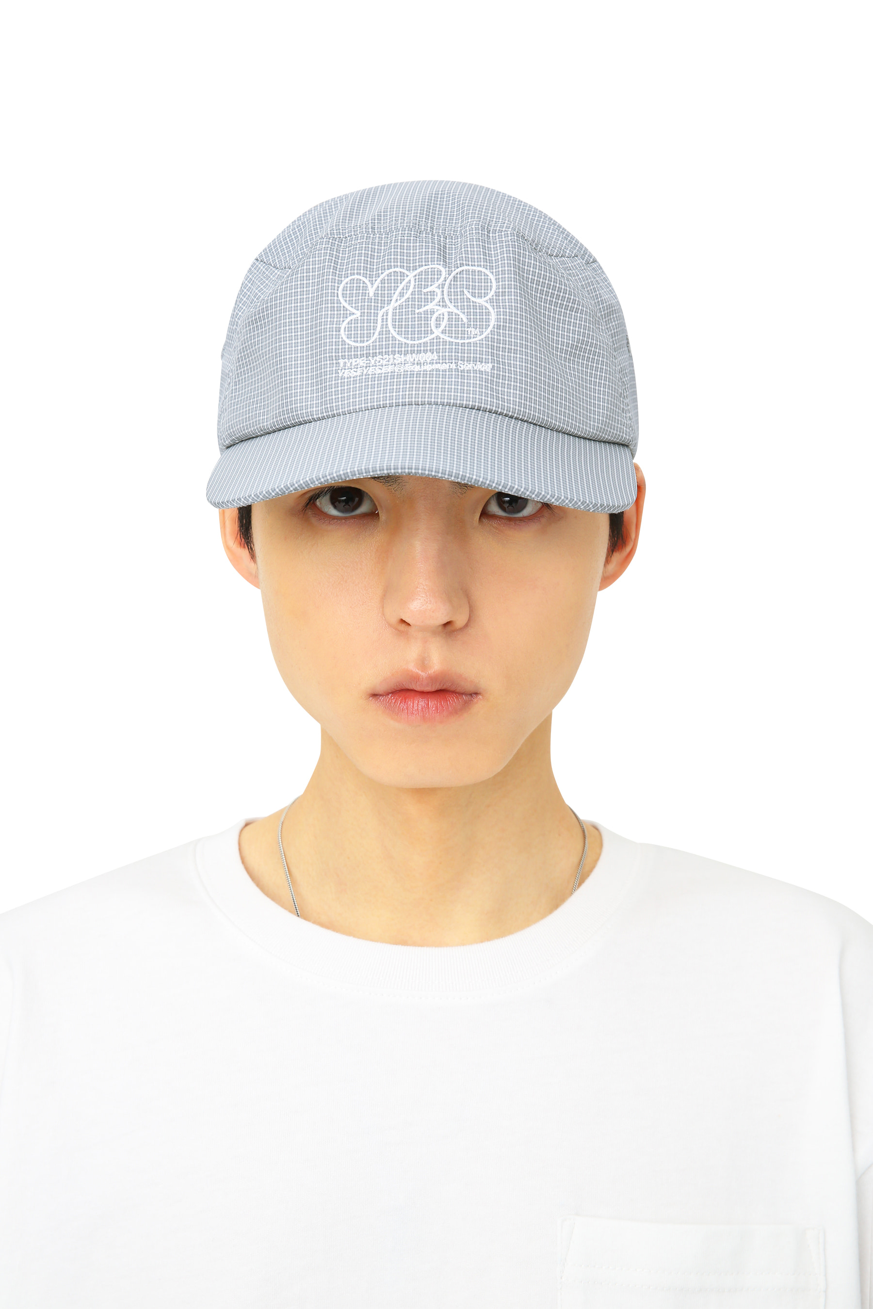Y.E.S Fishing Cap Grey