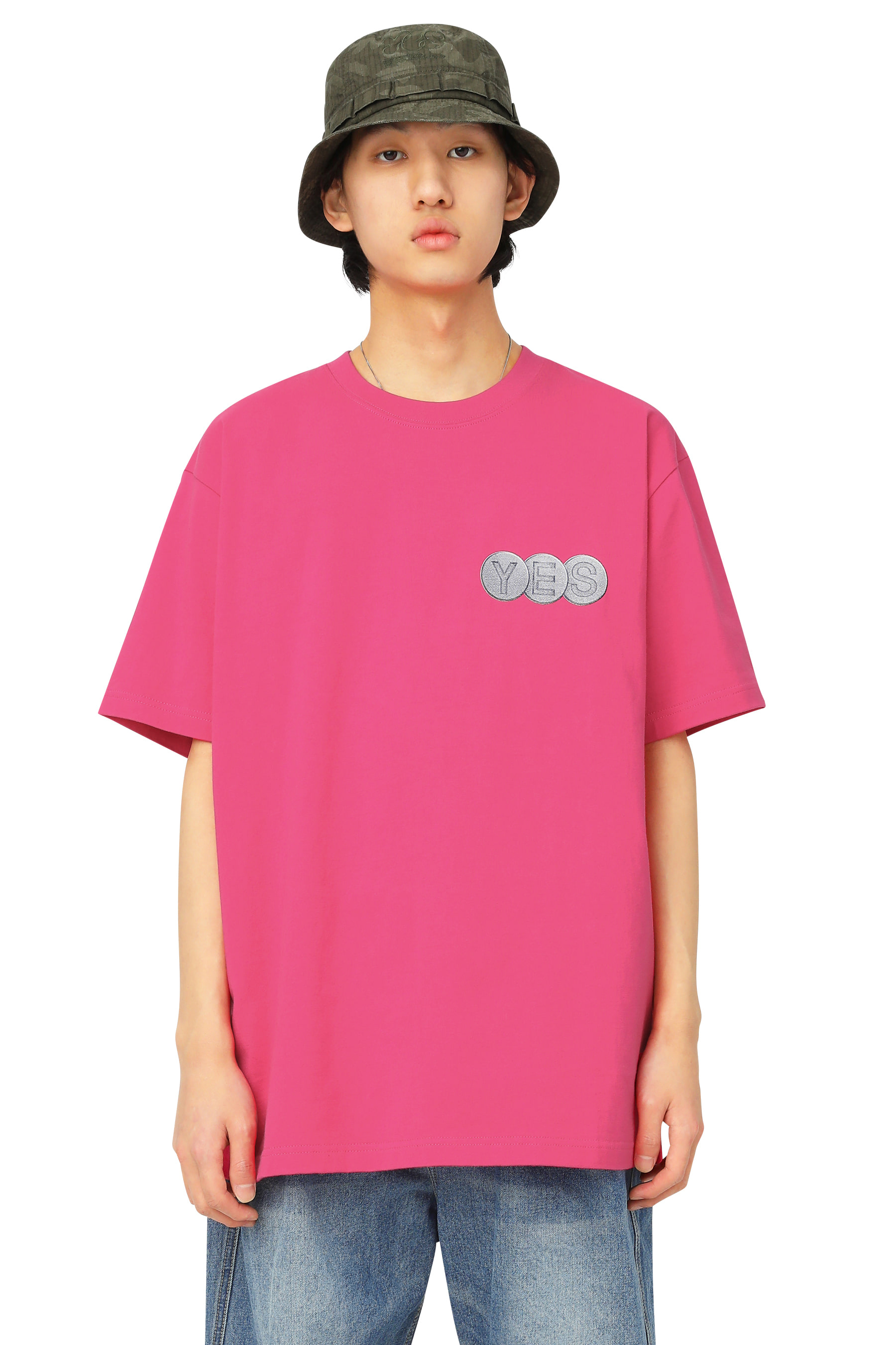 Y.E.S Screw Tee Pink