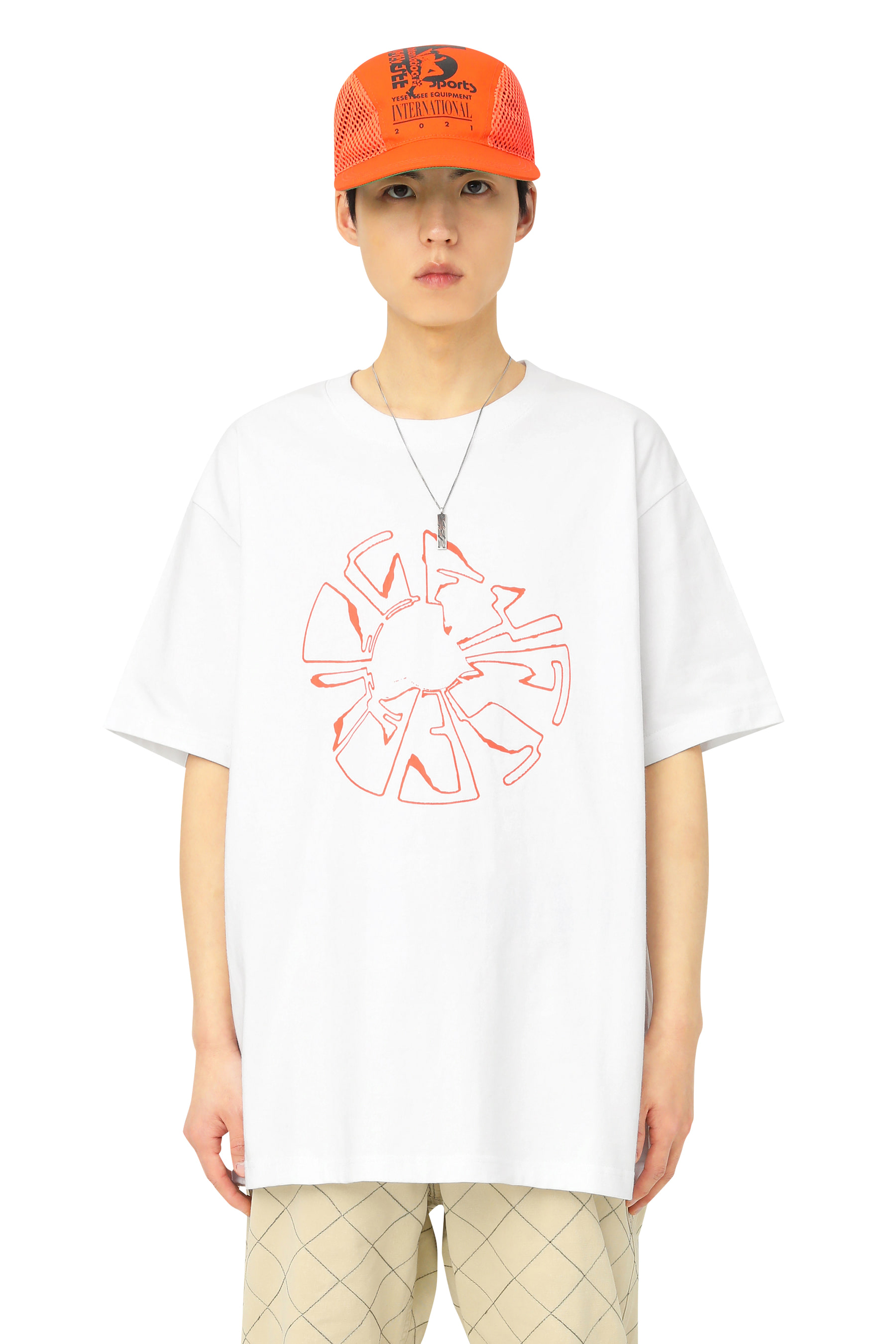 Y.E.S Magnetic Tee White