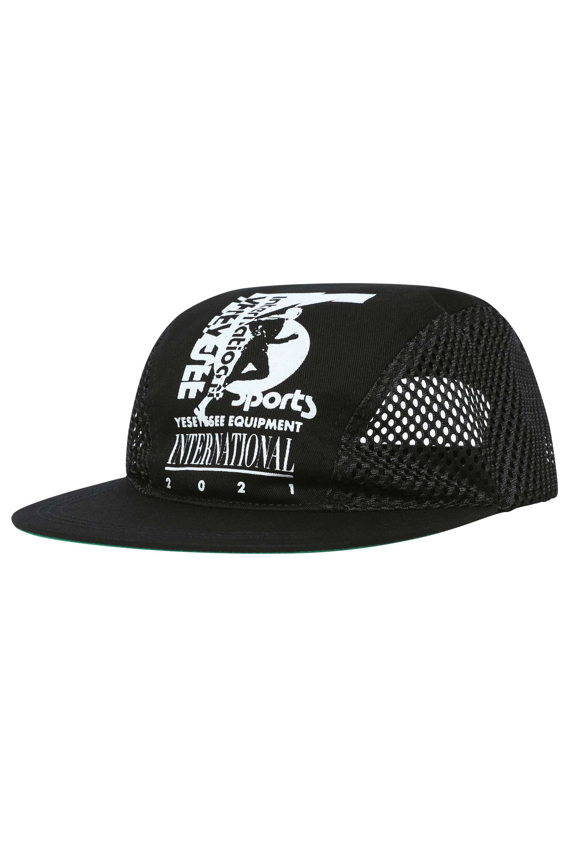 Y.E.S Sportsman Cap Black