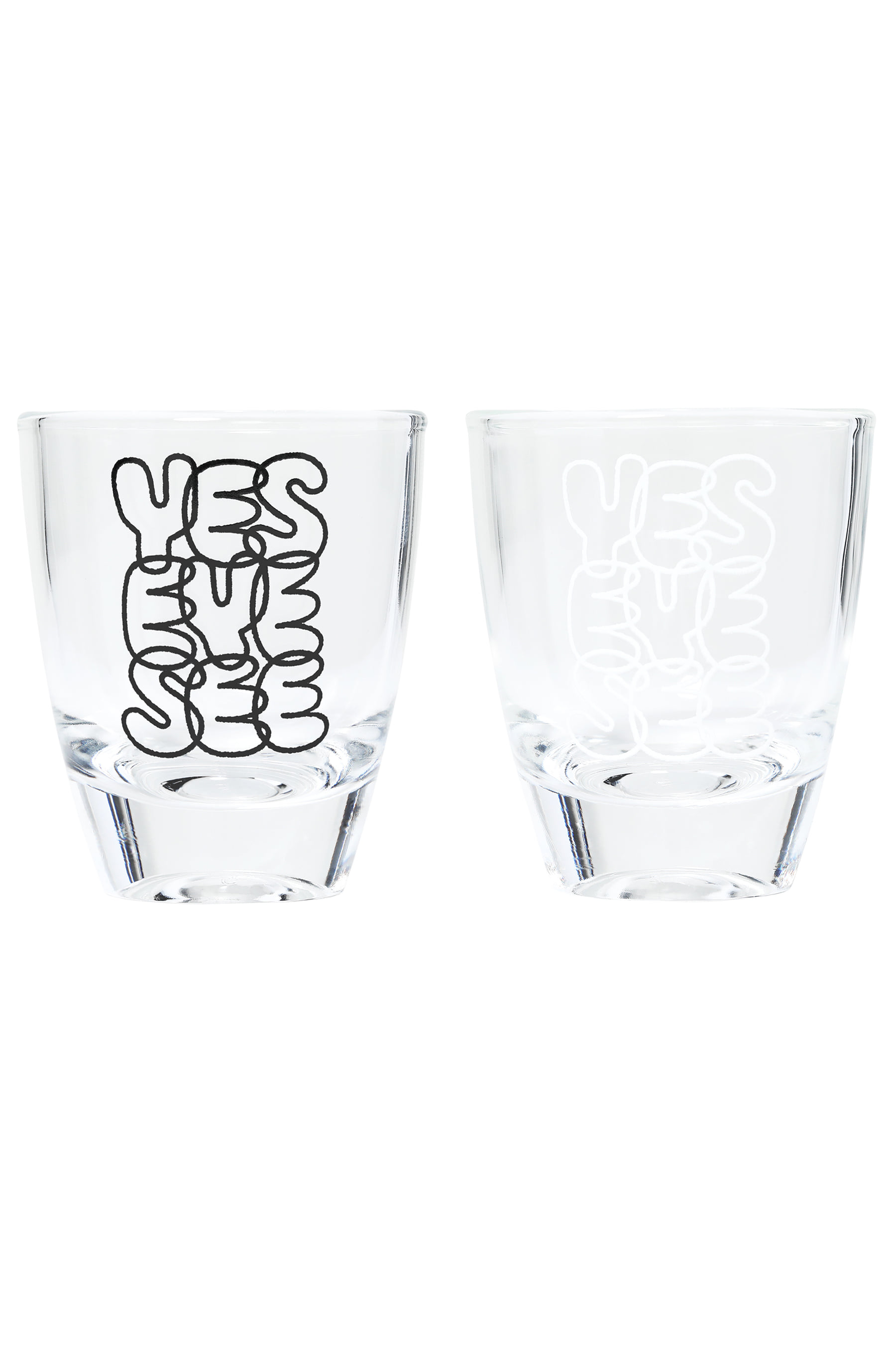 Y.E.S Shot Glass Water